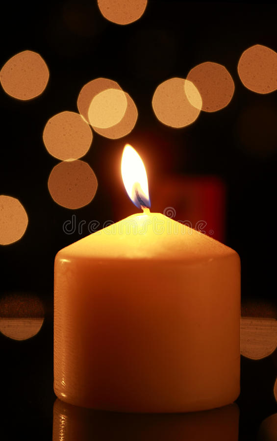 Download Candle flame stock image. Image of celebration, background - 24030577