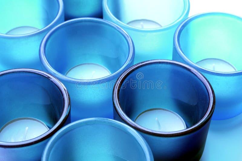 candle glass holders στοκ εικόνες