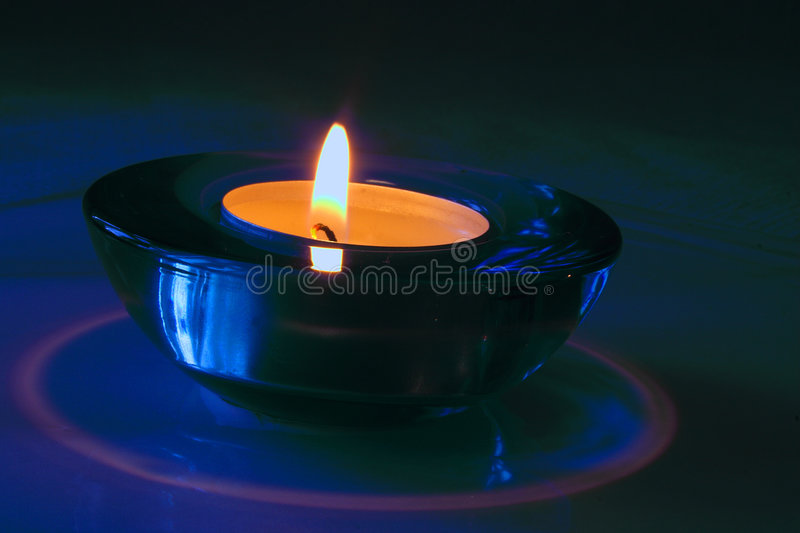 Candle holder royalty free stock photos