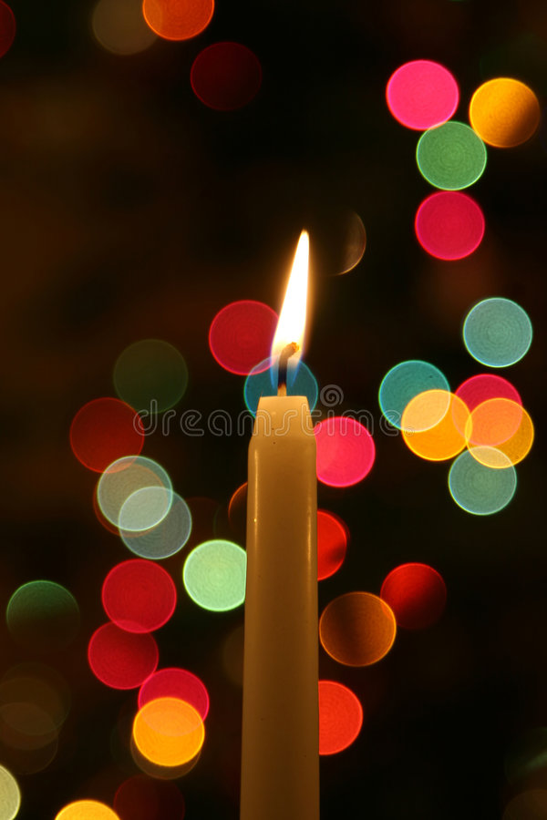 Candle light royalty free stock photos
