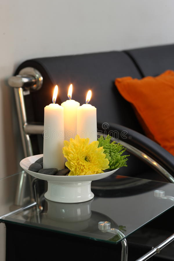 Download Candle light stock image. Image of candle, glass, green - 21225463