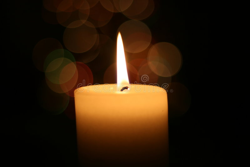 Download Candle light at Christmas stock image. Image of religion - 4651627