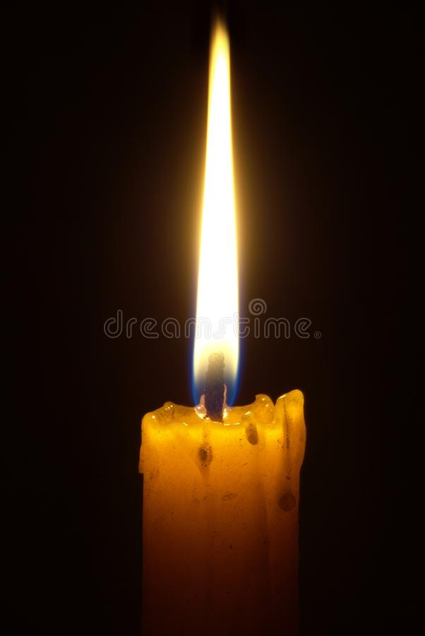 Download Candle Light In The Dark Royalty Free Stock Images - Image: 15669899