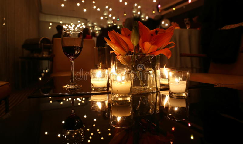 Download CANDLE LIGHT DINNER TABLE stock photo. Image of ceremony - 69846476 & CANDLE LIGHT DINNER TABLE stock photo. Image of ceremony - 69846476