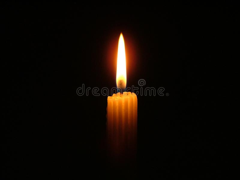 My Candle Light royalty free stock image