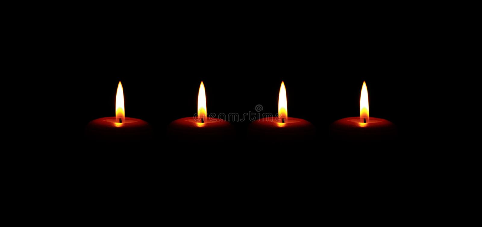 Candle, Lighting, Flame, Darkness stock photo