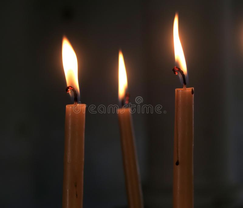 Candle, Lighting, Heat, Flame royalty free stock photo