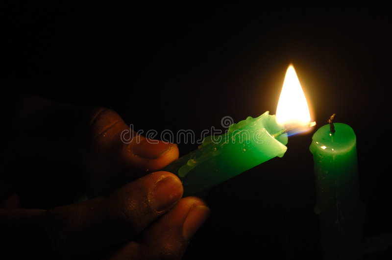 Download Candle Lit stock image. Image of home, night, cangle, burn - 2475655