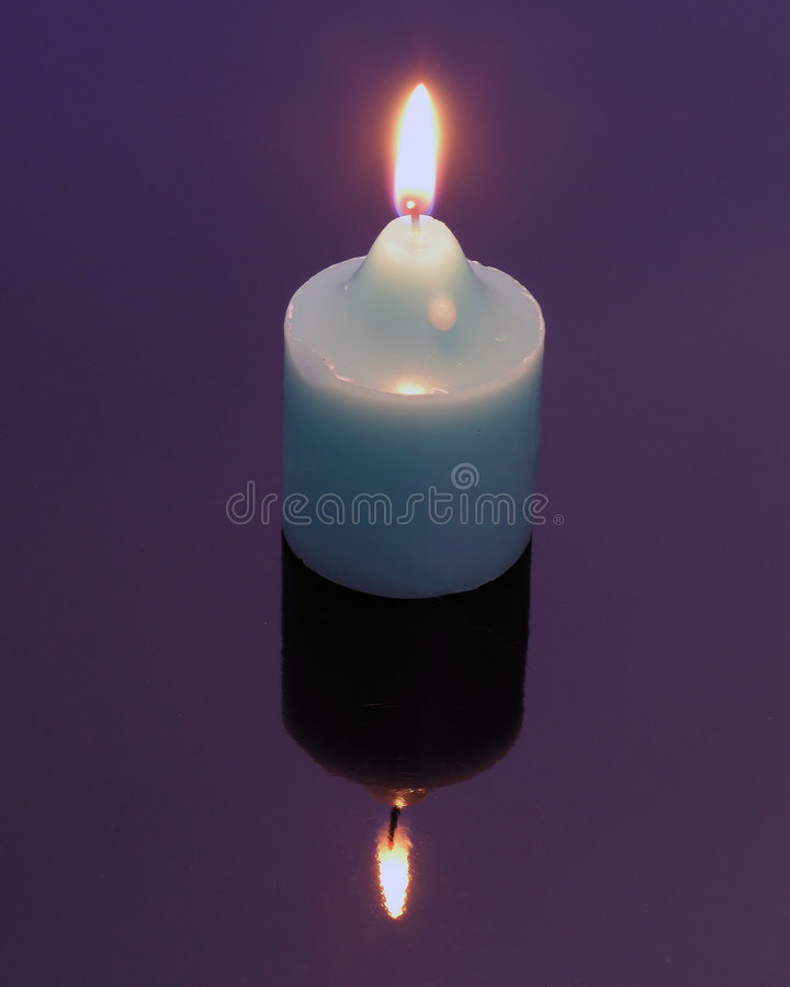 Download Candle Mirror Image stock image. Image of glass, mirror - 81947
