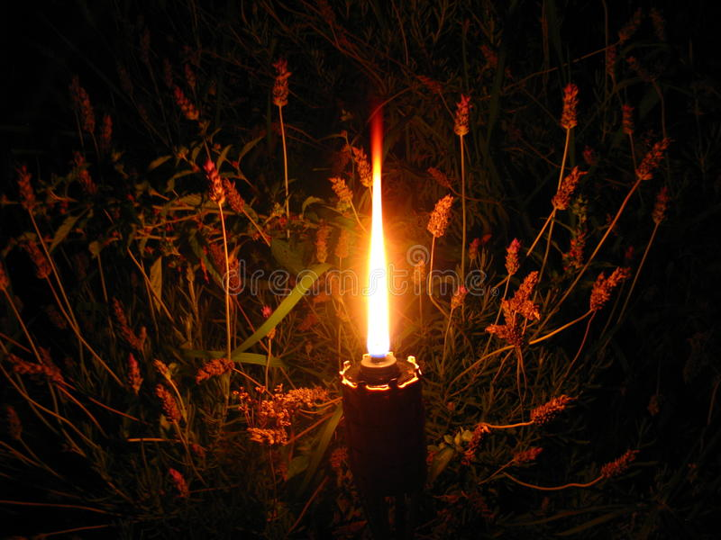 Candle of peace for the world. royalty free stock image