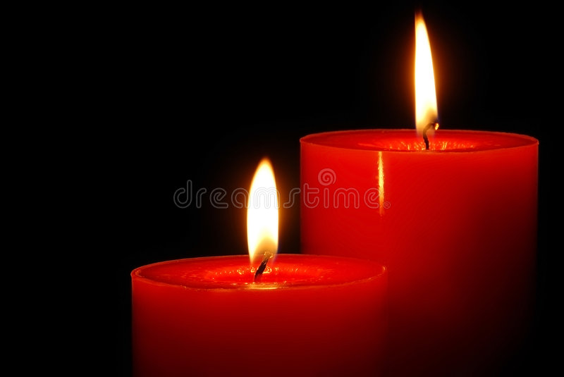 Candle portrait royalty free stock photo