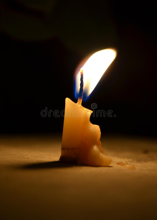 A candle royalty free stock images