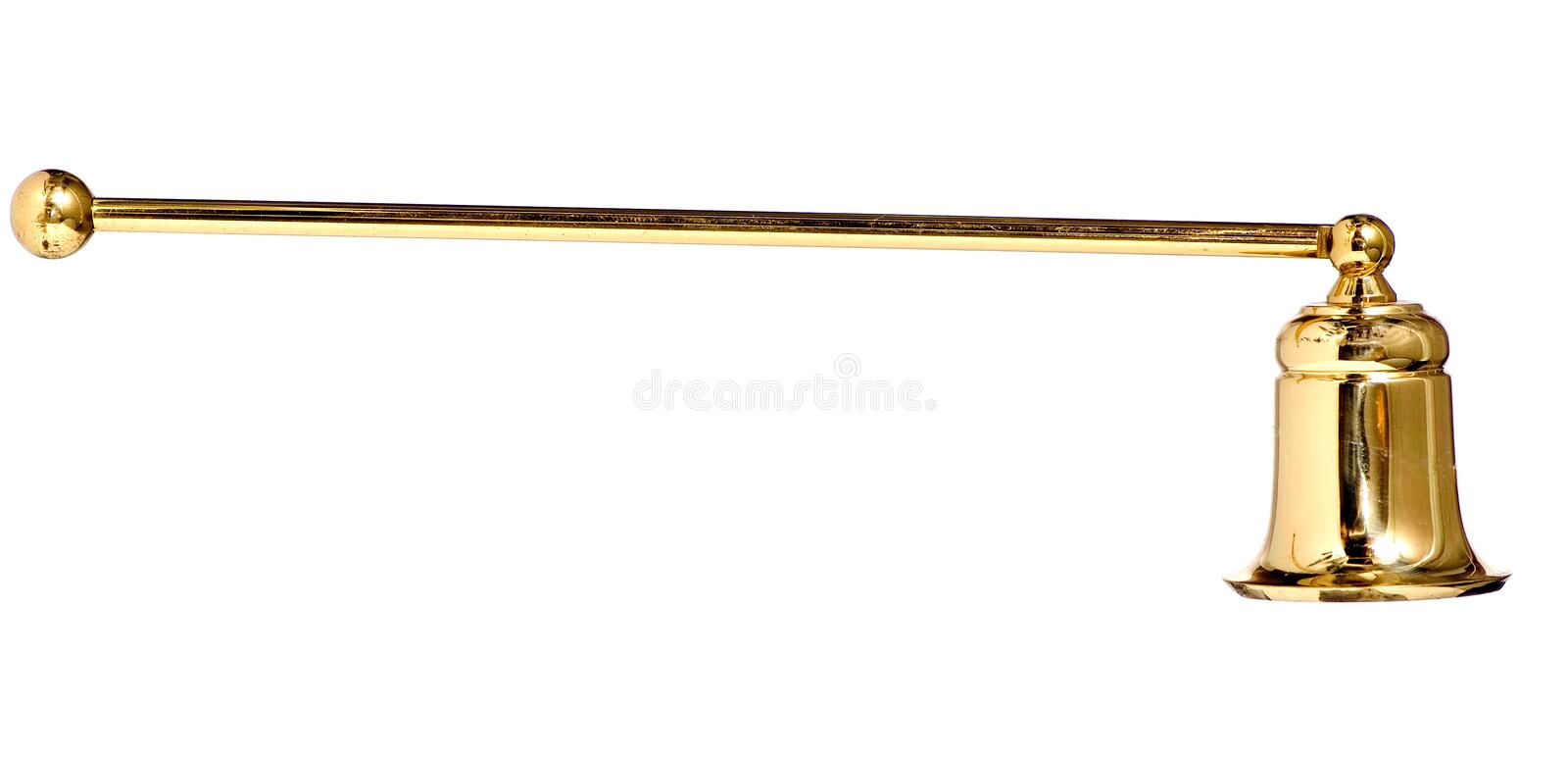 Download Candle Snuffer Isolated stock photo. Image of handle, fire - 1397148