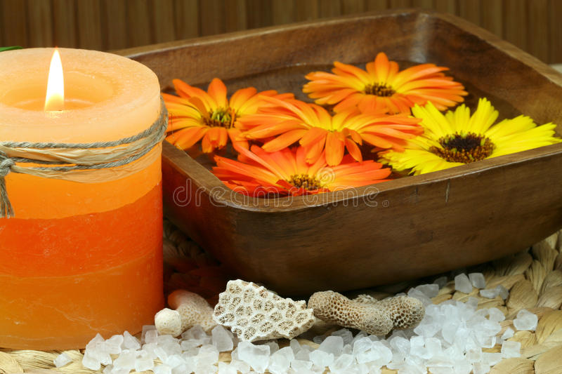 Download Candle spa stock image. Image of decor, health, aromatherapy - 23852567