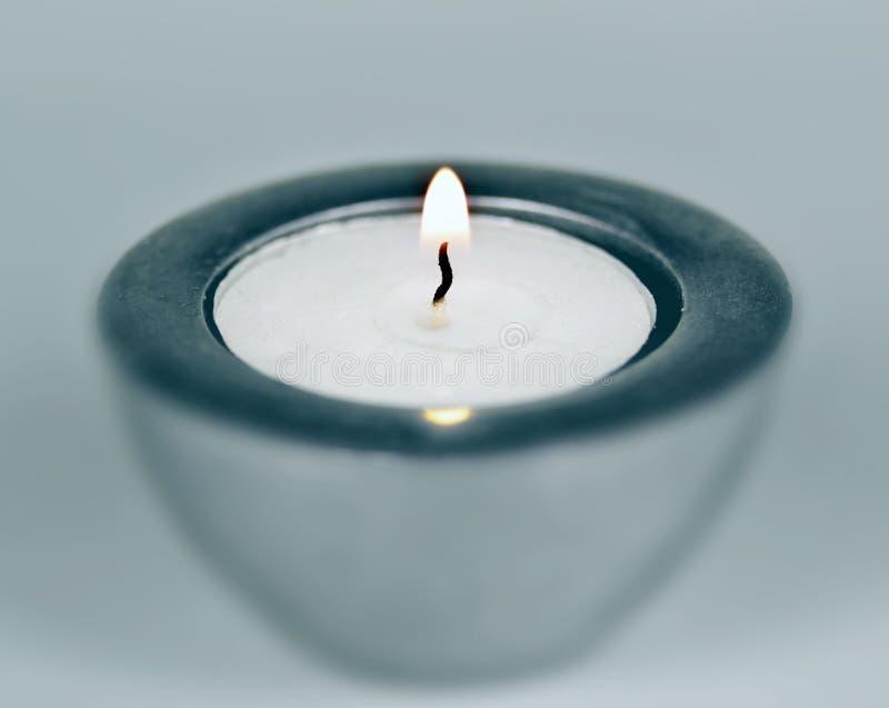 Candle spiritual stock image