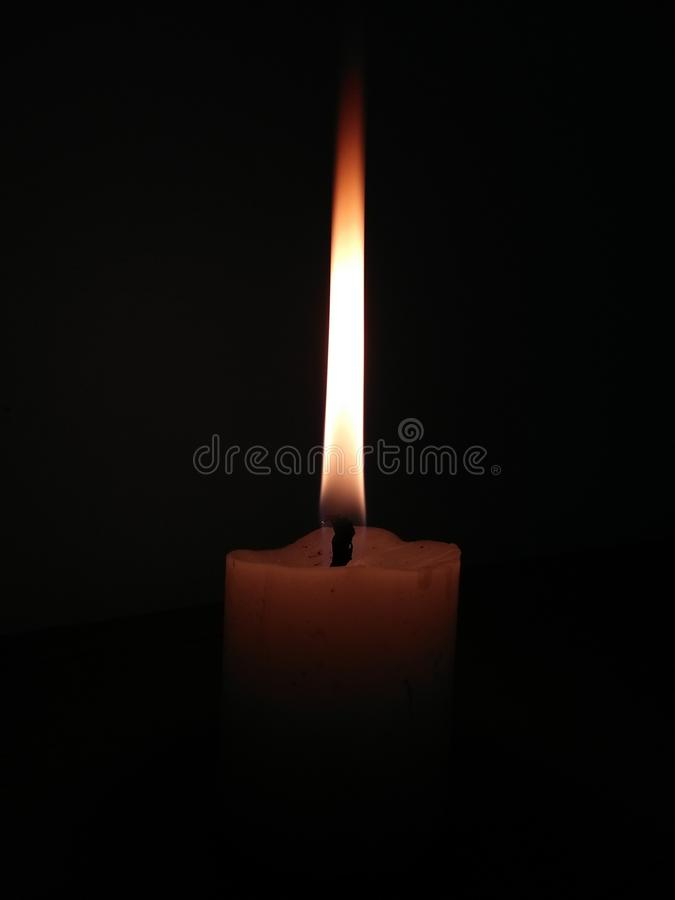 Candle, Wax, Lighting, Flame stock images