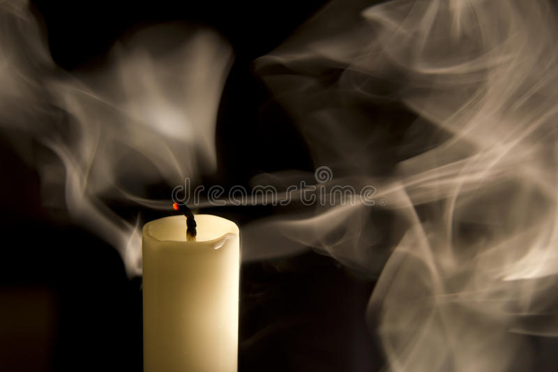 Download Candle In The Wind.. Stock Photos - Image: 23389193