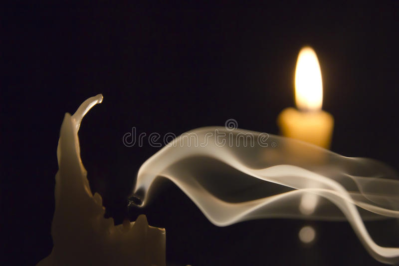 Download Candle in the wind.. stock image. Image of background - 23389373