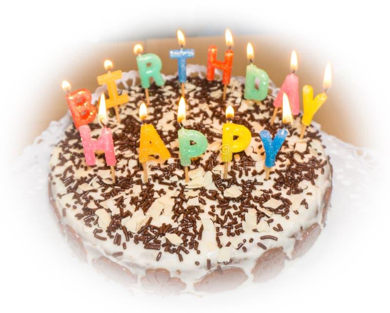 candlelight σπιτικό αντικείμενο τροφίμων κέικ γενεθλίων στοκ φωτογραφία με δικαίωμα ελεύθερης χρήσης