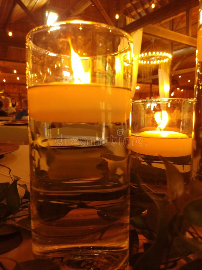 candlelight στοκ εικόνες