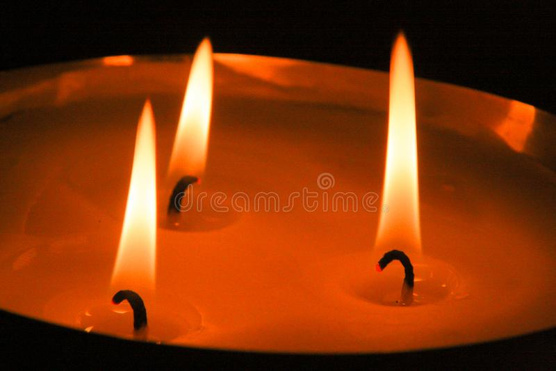 candlelight fotos de archivo