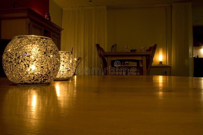 candlelight royaltyfri fotografi