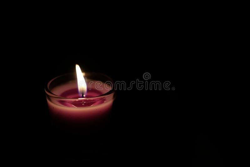 candlelight fotografia royalty free