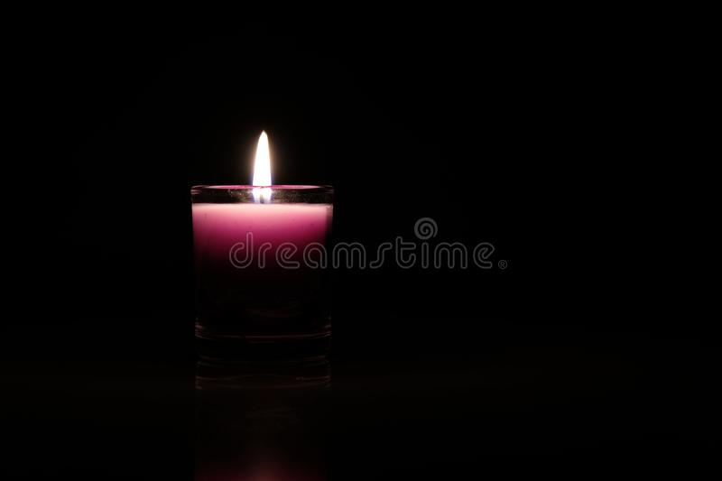 candlelight obraz stock