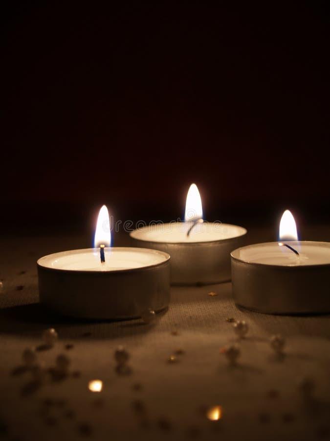 candlelight royaltyfri foto