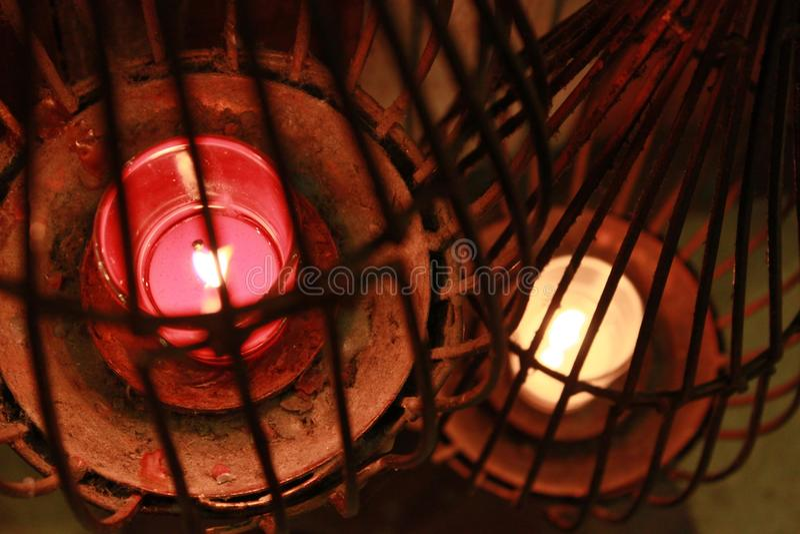 candlelight стоковая фотография rf