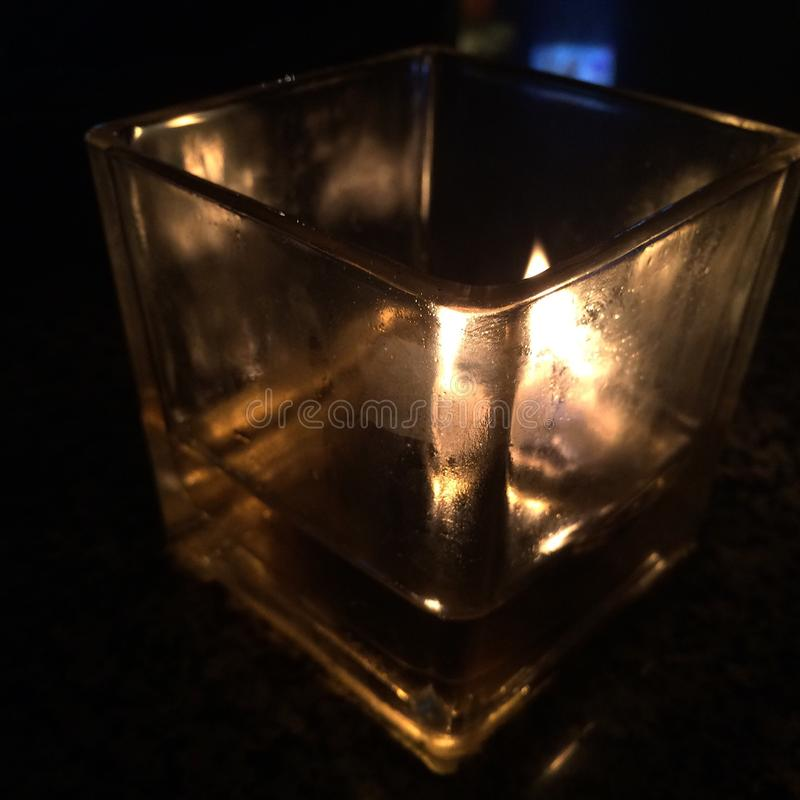 candlelight photo stock