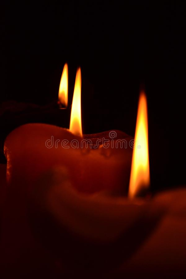 candlelight royaltyfria bilder