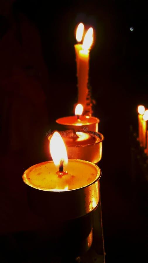 candlelight arkivbild