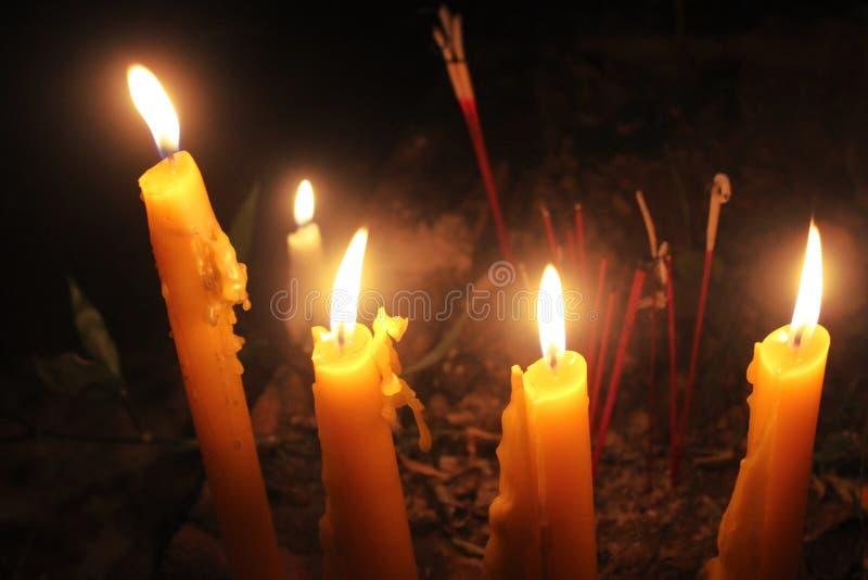 candlelight fotografía de archivo