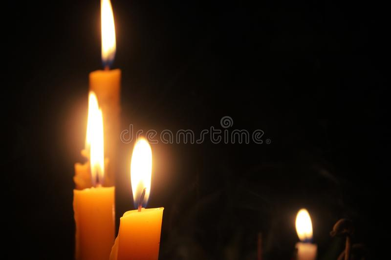 candlelight fotografie stock