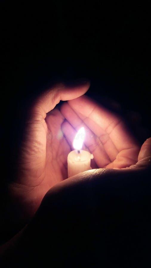 candlelight royaltyfri bild