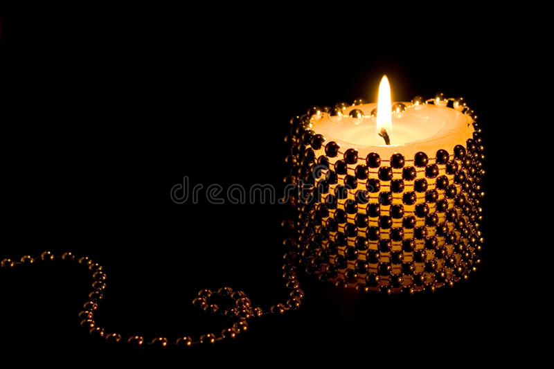 Candlelight Candle stock image