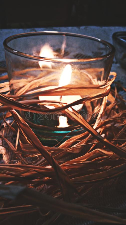 Candlelight stock photos