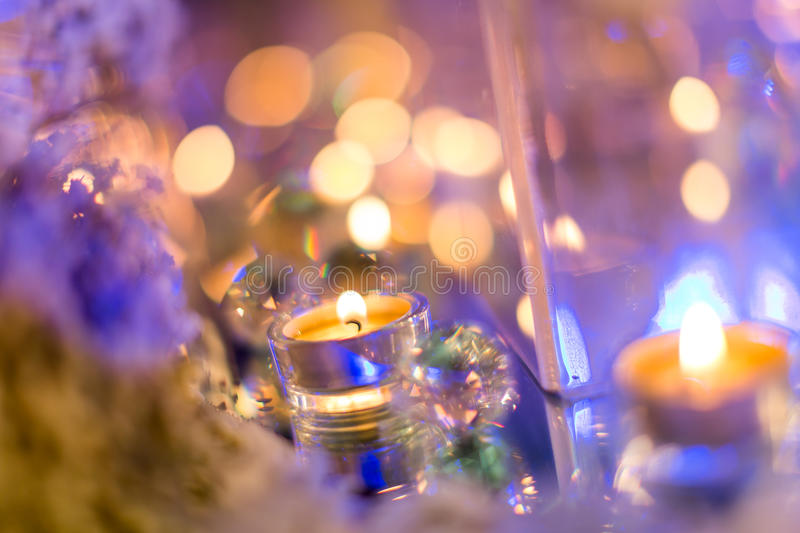 Candlelight Dinner royalty free stock image