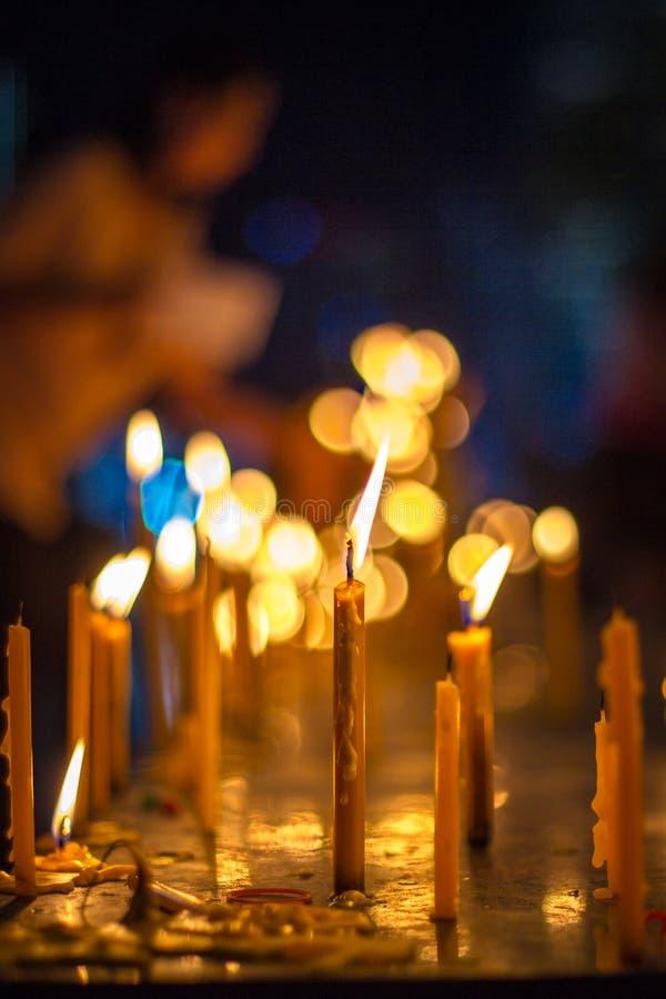 Candlelight royalty free stock image