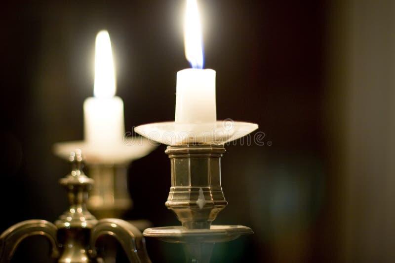 candlelighthållare arkivbilder