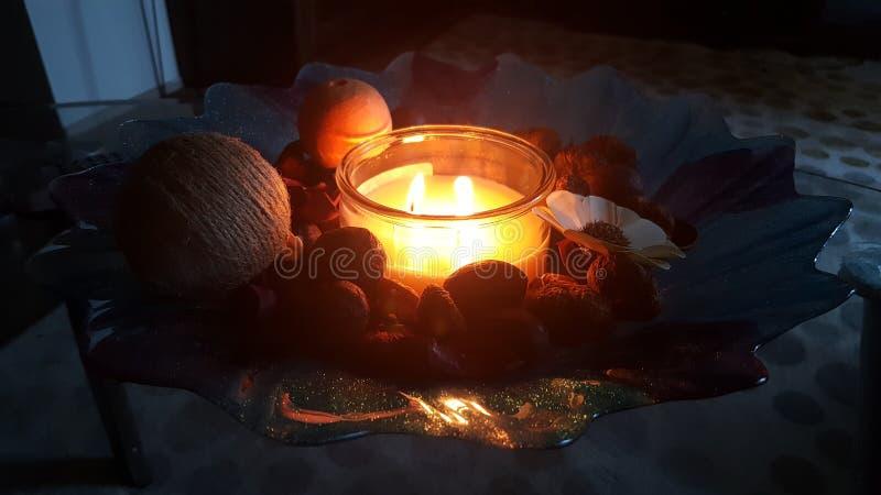 candlelit photographie stock libre de droits