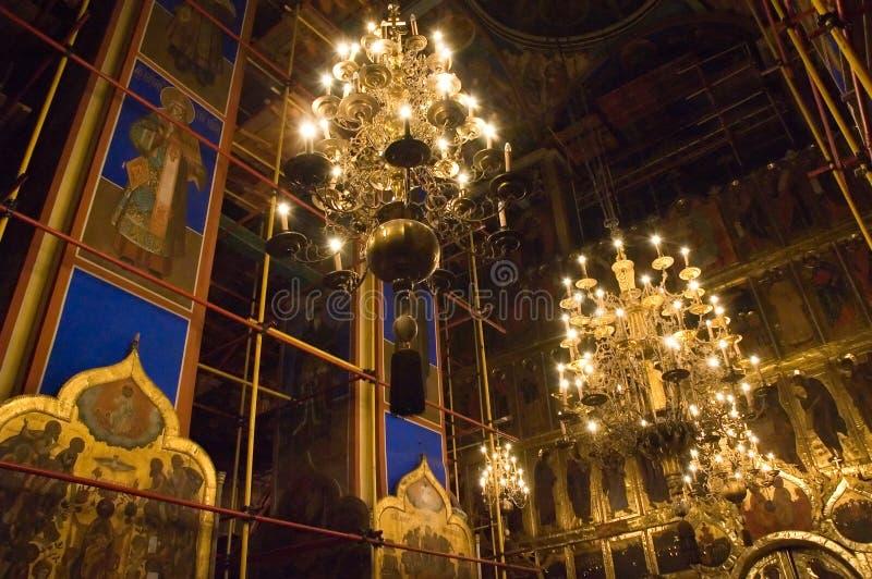 candlellight εκκλησία στοκ φωτογραφίες