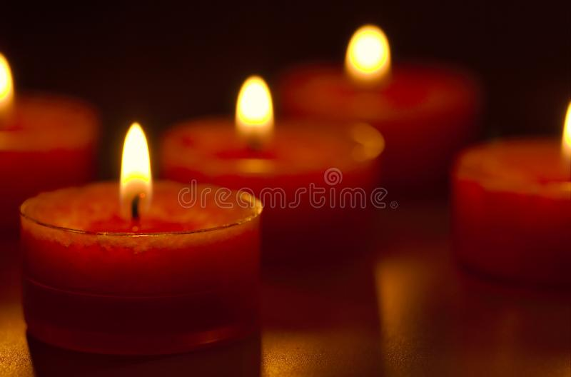 Candles Free Stock Photography