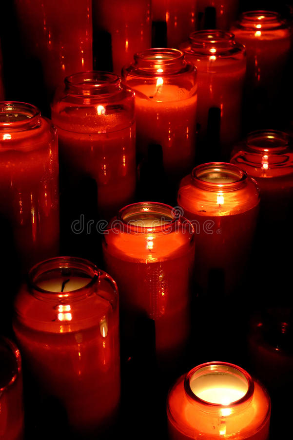 Download Candles stock image. Image of close, religion, donation - 17603619