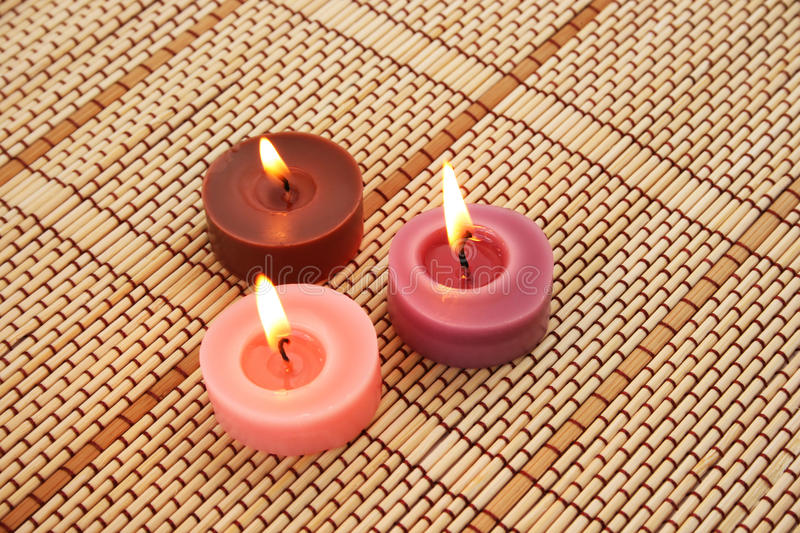 Candles royalty free stock image