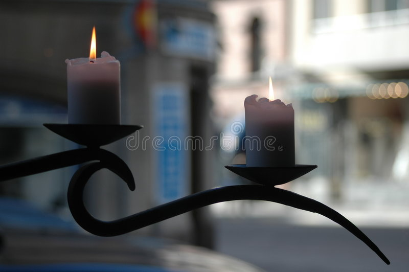 Download Candles stock image. Image of romance, white, light, fire - 313777