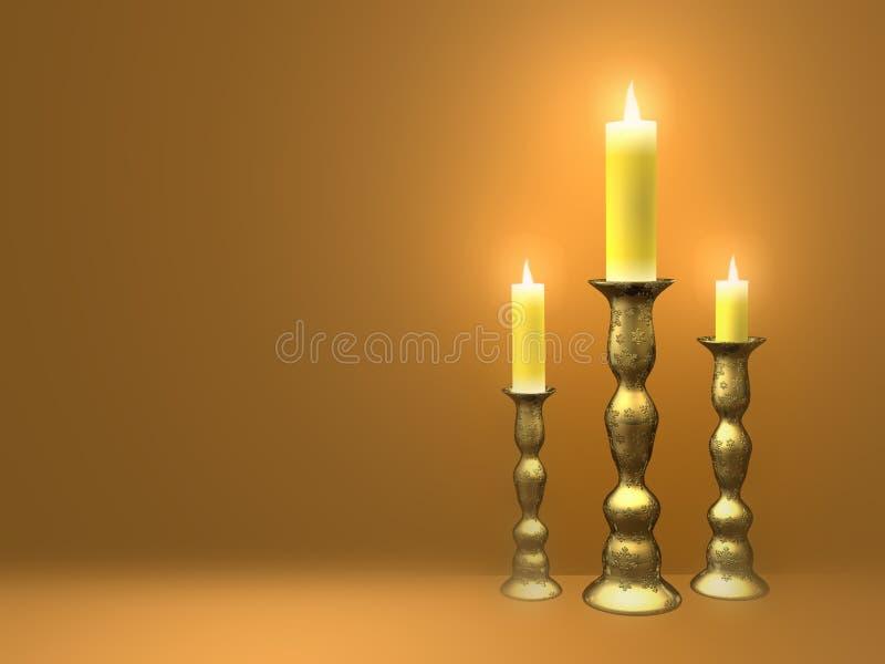 Download Candles απεικόνιση αποθεμάτων. εικονογραφία από μμένος - 384423