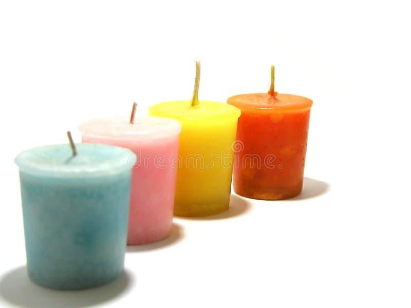 Download Candles stock image. Image of orange, light, smell, blue - 4674985