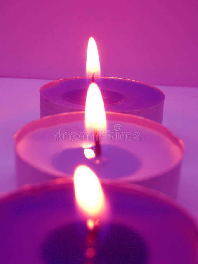 Candles. ~ 3 candles in a role
